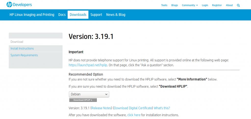 HP printer and scanner on Linux – Edoardo Vignati